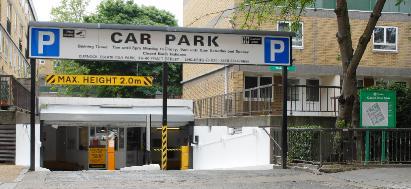 Lomax Car Park Camden